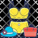 Summer Clothes Female Wear Bikini Icon