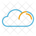 Summer Cloud Sky Icon