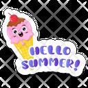 Summer Dessert Icon