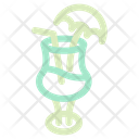 Summer Drink Drink Glass Icon