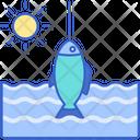 Summer Fishing Icon
