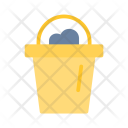 Summer Flat Bucket Icon