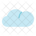 Summer Flat Cloud Icon