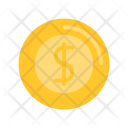 Summer Flat Dollar Icon