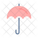 Summer Flat Umbrella Icon
