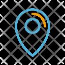Summer Geo Tag Icon