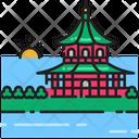 Summer Palace Beijing China Icon