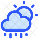 Cloud Sun Rain Icon