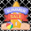 Holiday Sale Season Sale Summer Sale Icon