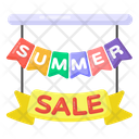 Summer Sale Banner Summer Sale Emblem Summer Sale Icon