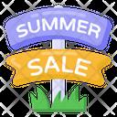 Sale Signboard Summer Sale Board Sale Billboard Icon
