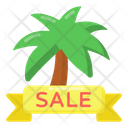 Summer Sale Label Summer Sale Ribbon Summer Sale Coupon Icon