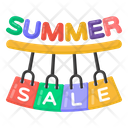 Summer Sale Summer Shopping Summer Shopping Sale Icon
