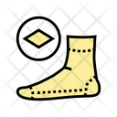 Summer Sock Color Icon