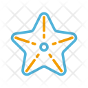 Summer Starfish Animal Icon