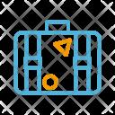 Summer Suitcase Briefcase Icon