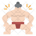 Sumo Fighter Japanese Icon