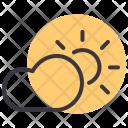 Sun Cloud Sunny Icon