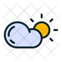 Sunny Cloud Cloudy Icon