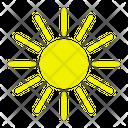 Sun Warm Hot Icon