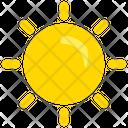 Sun Spring Day Icon