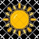 Sun Bright Sunlight Icon