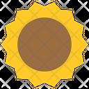 Sun Bright Illumination Icon