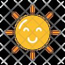 Sun Happy Sun Summer Icon