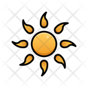 Sunny Day Weather Sky Icon
