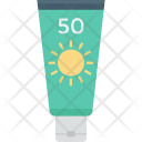 Sun Oil Sunblock Icon