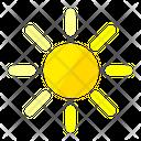 Sun Sunlight Weather Icon