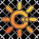 Sun Summer Energy Icon
