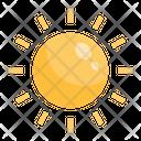 Sun Weather Summer Icon