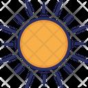 Sun Day Shine Icon