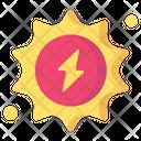 Sun Nature Sustainable Energy Icon