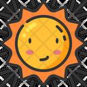 Sunny Sun Summer Icon