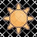 Sun Sunny Day Summer Icon