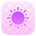 Sun Summertime Warm Icon