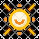 Sun Smile Sunny Icon