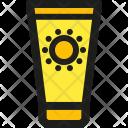 Sun Lotion Icon