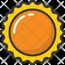 Sun Daylight Daystar Icon