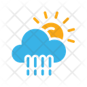 Sun And Rain Icon
