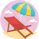 Sunny Day Holiday Icon