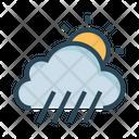 Sun Shine Cloud Icon