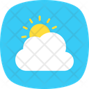 Weather Report Sun Icon