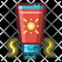 Sun Block Cream Icon