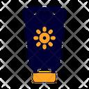 Sun Block Sun Screen Cosmetic Icon