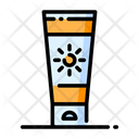 Sun Cream Cream Lotion Icon