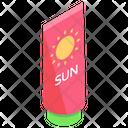 Sun Cream Icon