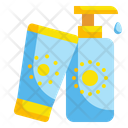 Sun Cream Sunscreen Cream Icon